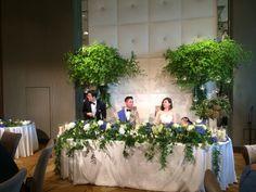 幼馴染wedding Wedding Fair, Our Wedding, Wedding Flowers, Wedding Photos, Groom, Table Decorations, Bride, Plants, Image