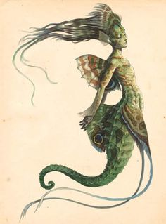 """I must be a mermaid, Rango. I have no fear of depths and a great fear of shallow living.""  ― Anaïs Nin"