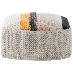 The Mangas Caramelo Pouf was created by Spanish designer Patricia Urquiola for the brand GAN.Founded in GAN started out as a family company specialising i Patricia Urquiola, Mod Furniture, Modern Home Furniture, Colorful Furniture, Modern Ottoman, Patchwork Designs, Pouf Ottoman, Fashion Illustrations, Washing Clothes