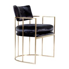 Erinn V. Black Pasadena Chair Front