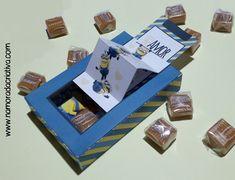 DIY Dia dos Namorados - Caixinha Minions - Inicial