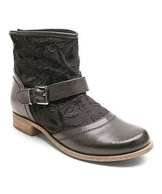 Loving this Black Too Duke Ankle Boot on #zulily! #zulilyfinds