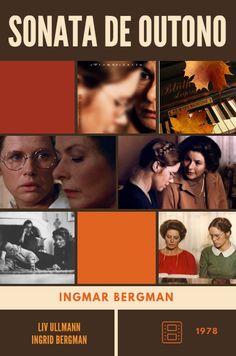 Sonata de Outono - Ingmar Bergman (1978).  Design by Elizangela Silva