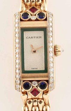 Cartier vitage art deco watch