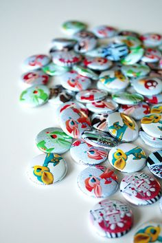 gorgeous buttons!