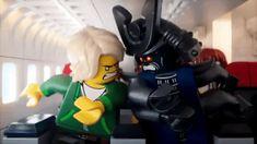Turkish Airlines- LEGO Garmadon and Lloyd Lego Ninjago Lloyd, Lego Ninjago Movie, Lego Movie, Lego Videos, Ninjago Memes, Four Arms, Lego Marvel, Funny Cartoons, Legos