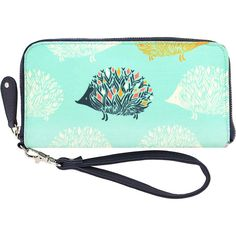 Capri Designs Sarah Watts Wallet (1.950 RUB) ❤ liked on Polyvore featuring bags, wallets, grey, vegan bags, faux leather bag, grey bag, gray bag and vegan wallet