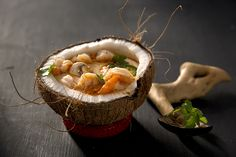 Shrimp Coconut Curry Soup  |  Salted and Styled