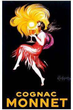 Leonetto Cappiello Cognac Monnet Vintage Ad Art Print Poster Print - 24x36 inches | Price:$4.03 + $3.99 shipping