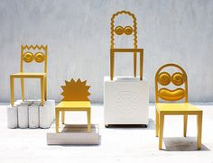 Unique Chairs. 56th Studio