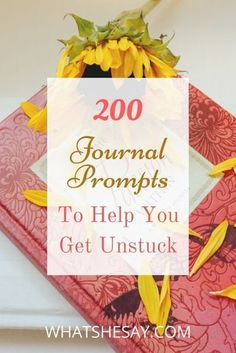 Journaling can sometimes be difficult even if youve journaled before and thats where journal prompts can provide a little help for your successful journaling. Use our extensive list of 200 journal prompts to help you become Gratitude Journal Prompts, Scripture Journal, Journal Questions, Morning Pages, Journal Inspiration, Journal Ideas, Journal Art, Journal Layout, Junk Journal