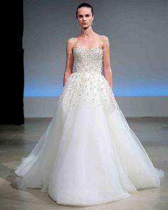 Isabelle Armstrong Fall 2017 Wedding Dress Collection   Martha Stewart Weddings – Sleeveless ball gown wedding dress