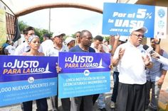 Profesores de la UASD aplazan inicio del semestre con anuncio de protestas