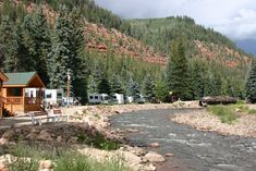 Priest Gulch Campground RV Park Cabins Lodge