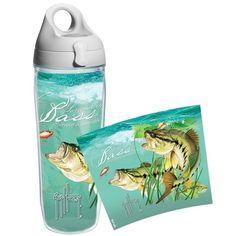 Guy Harvey Largemouth Bass Water Bottle