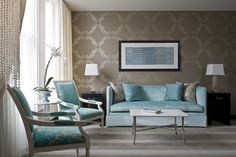 like the couch, chairs, wallpapers...everything else needs to be bedazzled or have a pop of color!