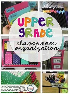 The Hungry Teacher: Classroom Organization in the Upper Grades {Part 3 of 5}