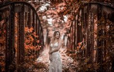 Ria in the enchanted forest Enchanted, Brides, White Dress, Wedding Dresses, Pretty, Photography, Instagram, Bride Dresses, Bridal Gowns