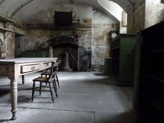 Kitchen at Newhailes, Scotland.