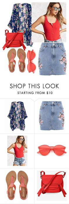 """""""summer outfit"""" by aletraghetti on Polyvore featuring moda, Topshop, Forever 21, Aéropostale y BCBGMAXAZRIA"""