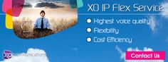 XO #IPFlexService is a converged data and #VoIP (Voice over Internet Protocol) solution that includes VPN (Virtual Private Networking), web hosting, DIA (Dedicated Internet Access), as well as local and long distance calling services. It is cost effective, simple and flexible that makes it an ideal choice for any small or mid-sized businesses and large companies with dispersed locations.