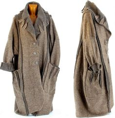 0d88aab2bf3 Manteau-long-hiver-laine-bouillie-grande-taille-femme-taupe-KARLA-TAUPE