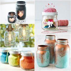 20 Decorative Mason Jar Crafts