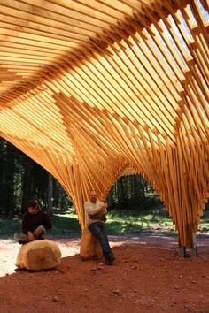 Creation of a Forest Shelter at Bertrichamp / Studiolada Architectes + Yoann Saehr Architect