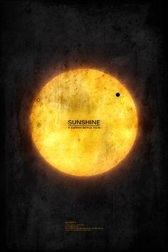 Sunshine Inspired 13x19 Inch Movie Poster. £20.00, via Etsy.