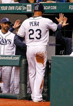Carlos Pena 06/12/12 Rays vs Mets Game 61