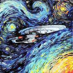 If Vincent Van Gogh were alive and a Trekker...                                                                                                                                                     More