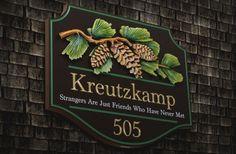 Kreutzkamp Property Sign