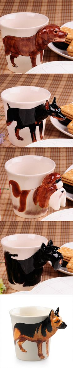 Wonder Zoo | Handmade cute animal 3d coffee milk mugs
