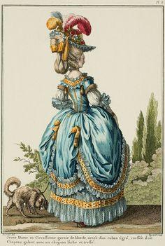 1778 - Robe à la Circassienne
