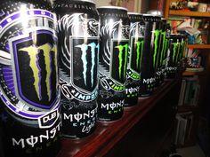 Monster Energy! Monster Energy Gear, Heathy Drinks, Perfect Timing, Energy Drinks, Vape, Drugs, Beverages, Fandoms, Racing
