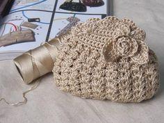 Tutorial - Pochette fleurie , pas à pas en images ! - Crochet Passion