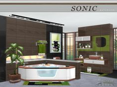 Sims 4 CC's - The Best: Bathroom by NynaeveDesigns