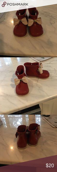Mini Melissa rain boots size 8 Mini Melissa rain boot size 8 Mini Melissa Shoes Winter & Rain Boots