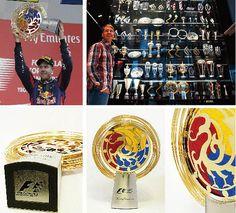 2013 Formula 1 korean grand prix trophy / design & made by gongplus+
