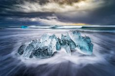 Smoking Ice ~ Iceland by Alex Gaflig on 500px