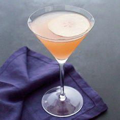 Fresh Pear Cocktail