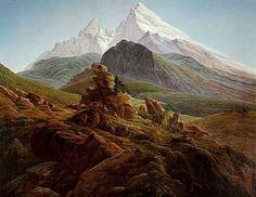 Caspar David Friedrich Paintings - Bing Images