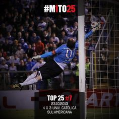 Top #M1TO25: 7º - Simplesmente uma das melhores partidas da história. Defendeu 10 vezes, sendo 6 verdadeiros milagres (via São Paulo FC - Twitter)