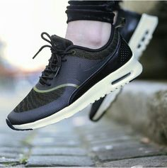 Nike Air max Thea jacquard, faded olive