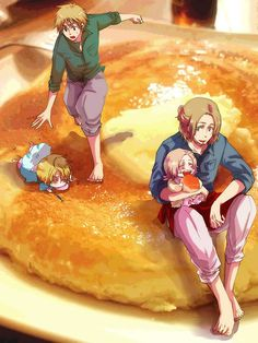 oh my gawd...ahahaha..yes that is a giant pancake