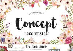 Concept Logo Design: Custom Logo Design (based on pre-made logo design)