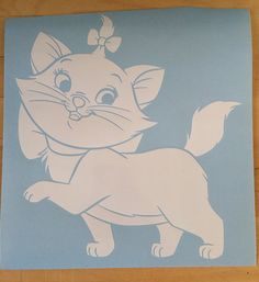Hey, I found this really awesome Etsy listing at https://www.etsy.com/listing/166389127/decal-kitty-marie