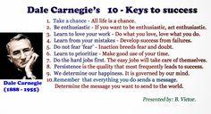 Dale Carnegie's 10 Keys to Success