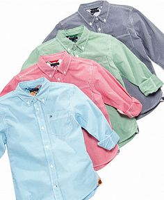 tommy hilfiger kids shirt