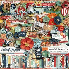 *FREE with Purchase Offer* World Travels by Sweet Shoppe Designs